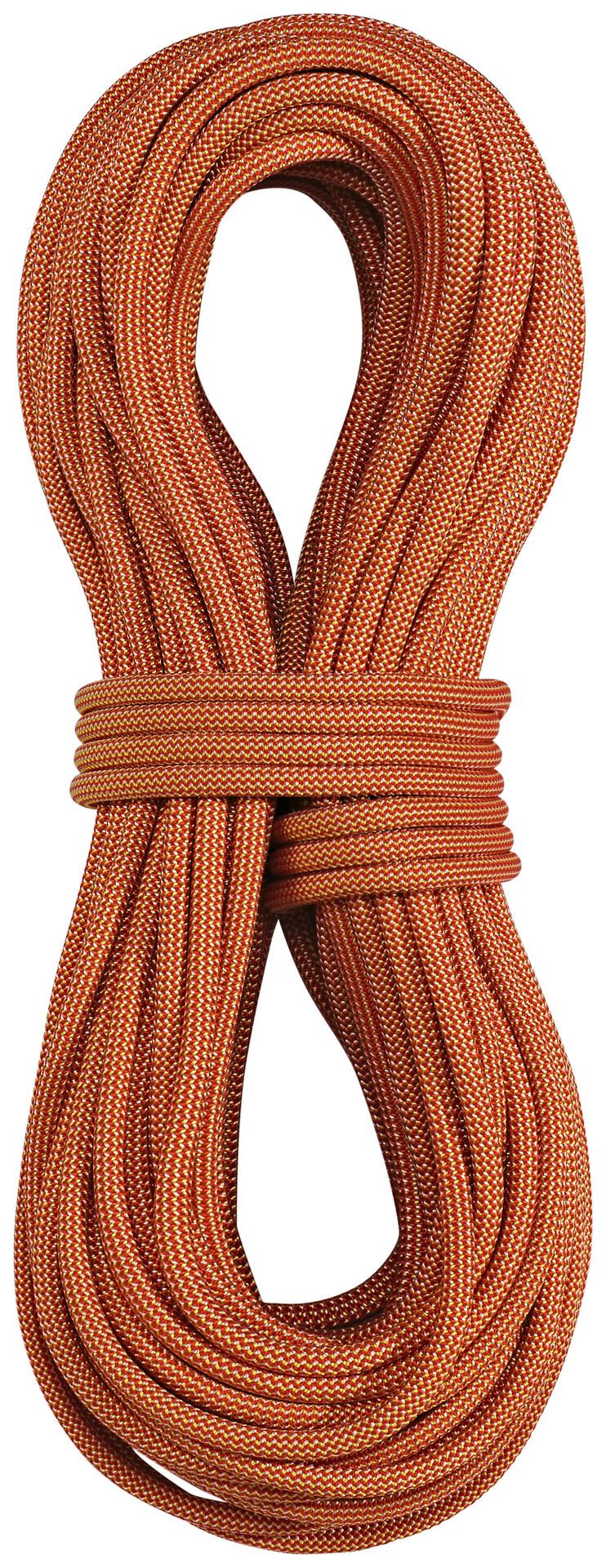 Edelrid Boa Rope Rope Rope 9,8mm/60m röd/gul 53e99b